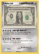 1 doller bill