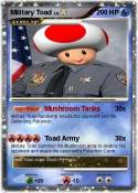 Military Toad