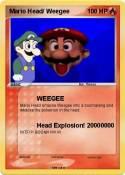 Mario Head/