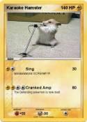Karaoke Hamster