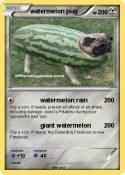 watermelon pug