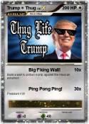 Trump = Thug