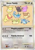 Eevee Family