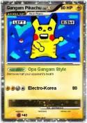 Gangam Pikachu