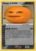 Orange of DOOM
