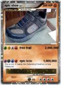 epic shoe