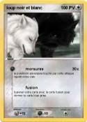 loup noir et