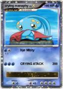 crying manaphy