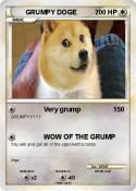 GRUMPY DOGE