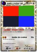 quatre couleur