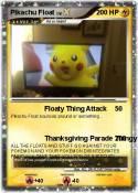 Pikachu Float