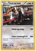 Clean up team