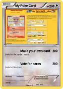 My Poke Card