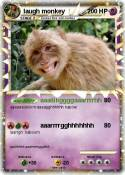 laugh monkey