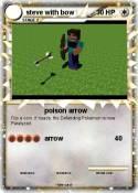 steve with bow