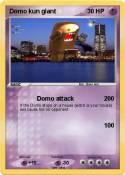 Domo kun giant