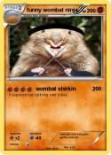 funny wombat
