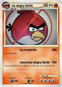 no angry birds