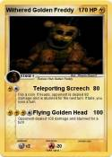 Withered Golden