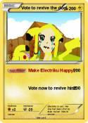 Vote to revive