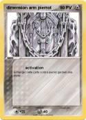 dimension arm