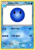 bonbon bleu