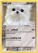 fluffy puff