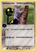 Girafarig réel