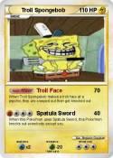 Troll Spongebob