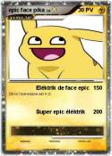 epic face pika