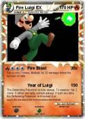 Fire Luigi EX