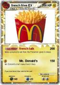 french fries EX