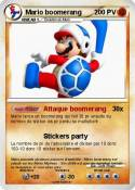 Mario boomerang