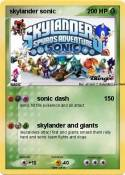 skylander sonic