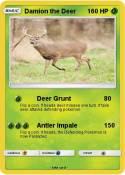 Damion the Deer