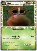 Pokémon King Julien 4 4 - Dancing - My Pokemon Card