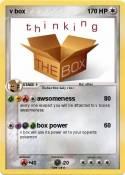 v box