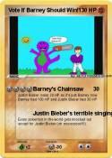 Vote If Barney