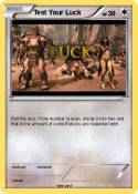 Test Your Luck