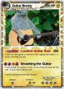 Guitar Bunny
