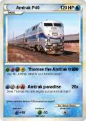 Amtrak P40