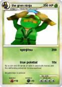 the gren ninja