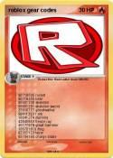 roblox gear
