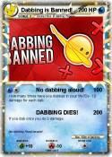 Dabbing is