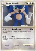 Sonic X plush
