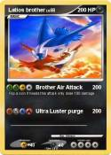 Latios brother