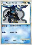 Aqua's Kyogre