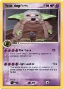 Yoda: dog form