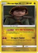 Hiccup Age 15