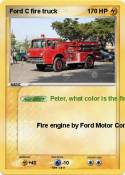 Ford C fire